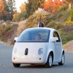 Il prototipo delle macchine auto-pilotate sviluppate da Google